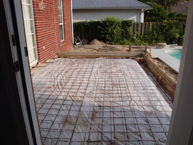 New Florida Room Foundation Forming (3)