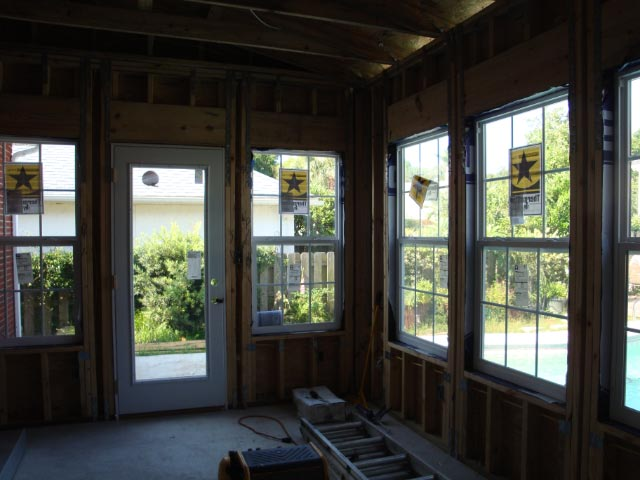 Framing and Window Installation