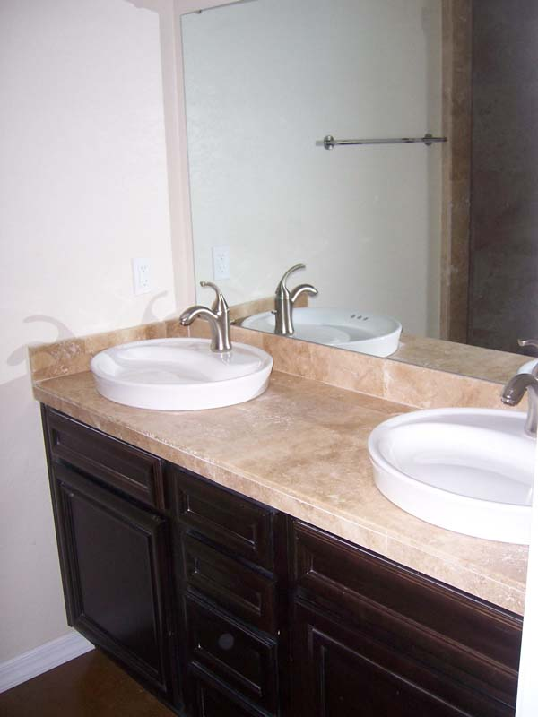 Finck House Double Bathroom Sink