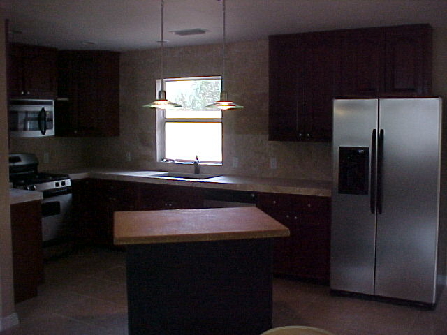 Woodham Kitchen with Island