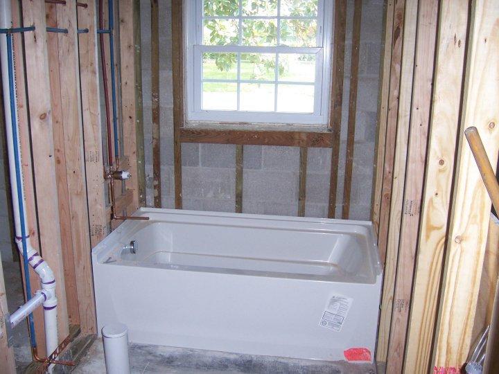 Oakland New Bathroom Framing