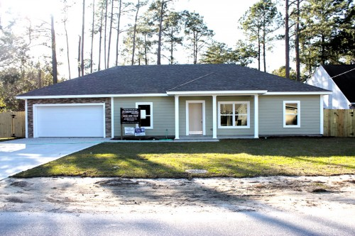 ICF Home in Fort Walton Beach Front View