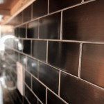 Custom Metal Backsplash