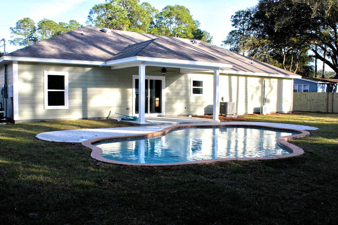 Custom icf home on pineview blvd in fort walton beach for Icf florida