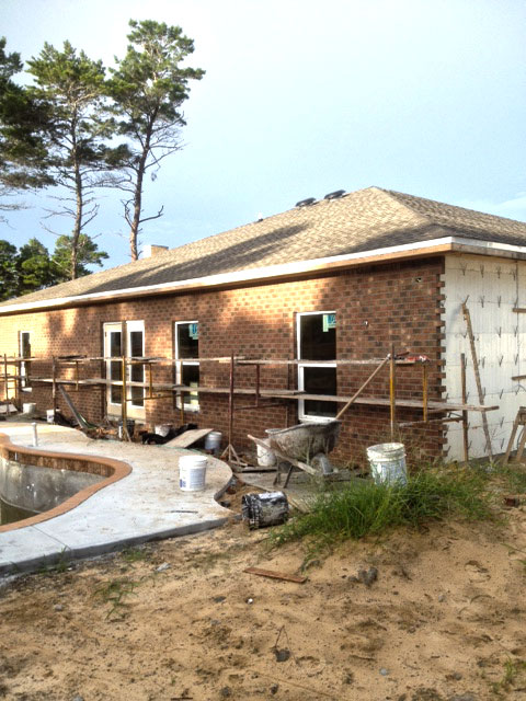 Our icf home and the plumbing electrical drywall and for Icf homes for sale in florida
